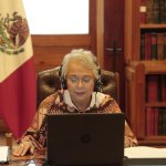 Martes se enviará a los estados lineamientos para un posible retorno: Segob - Foto de Twitter Olga Sánchez Cordero