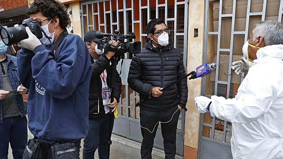 Al menos 90 países han registrado ataques contra la prensa durante pandemia, denuncia RSF - Periodistas en cobertura por COVID-19