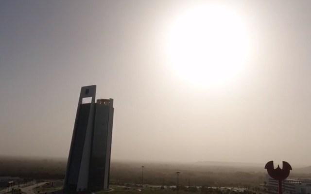 Polvo del Sahara llegó a la zona sur de Tamaulipas - Polvo Sahara Ciudad Victoria Tamaulipas