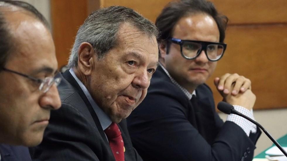 """Porfirio Muñoz Ledo rechaza renuncia a Morena; """"Que se vayan del partido los lambiscones y corruptos"""", afirma - Foto de Twitter Porfirio Muñoz Ledo"""