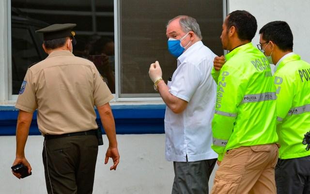 Defensa de expresidente de Ecuador arrestado denuncia persecución política - Foto de EFE