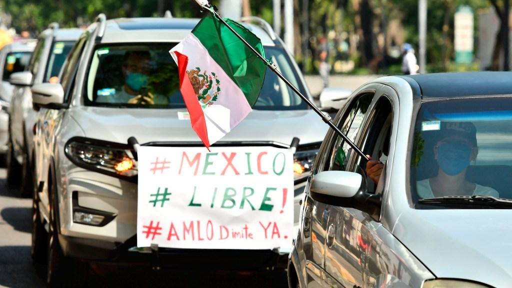 Solo en las dictaduras no se permite la manifestación de ideas: AMLO tras protestas en su contra - protestas amlo