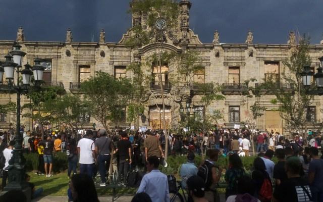 Liberan a detenidos por las protestas en Guadalajara - Foto de Notimex