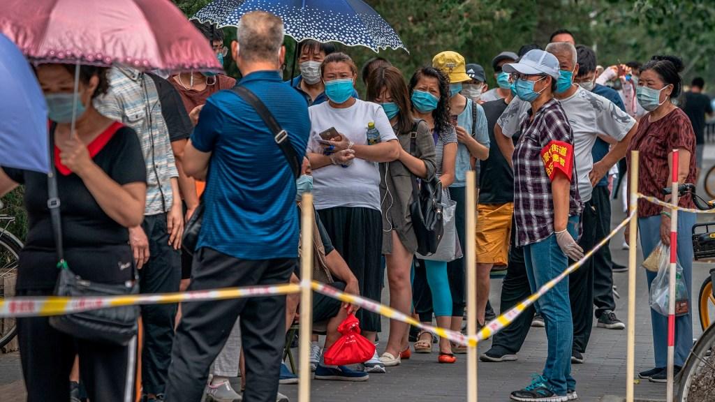 """Rebrote deCOVID-19 en Beijing está en """"etapa final"""", aseguran autoridades - Rebrote deCOVID-19 en Beijing"""