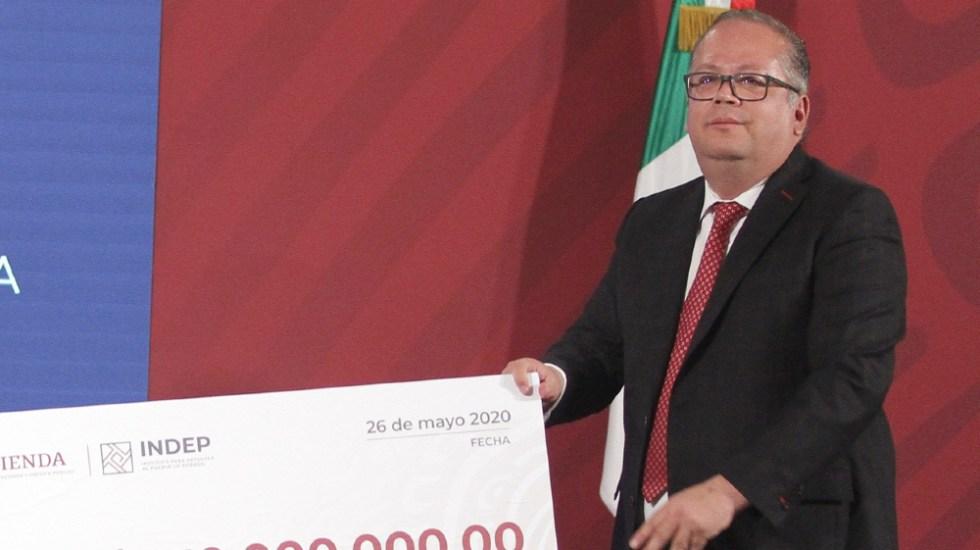 Confirma AMLO salida de Ricardo Rodríguez del INDEP; integrará terna para nuevo titular del Prodecon - Foto de Notimex
