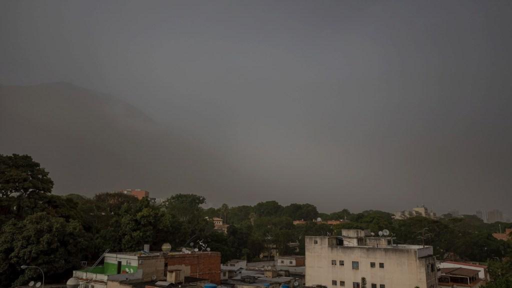 Nube de polvo del Sahara afecta a países del Caribe - Sahara polvo desierto Venezuela nube