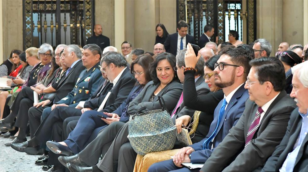 """Gabinete de López Obrador presenta """"en tiempo y con la mayor transparencia"""" su declaración patrimonial, asegura la SFP - Foto de SFP"""