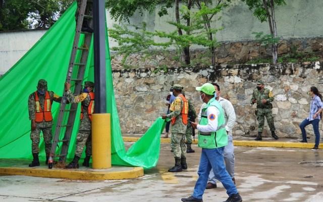 Aumenta a seis el saldo de muertos por el sismo de este martes en Oaxaca - Sismo Oaxaca daños autoridades