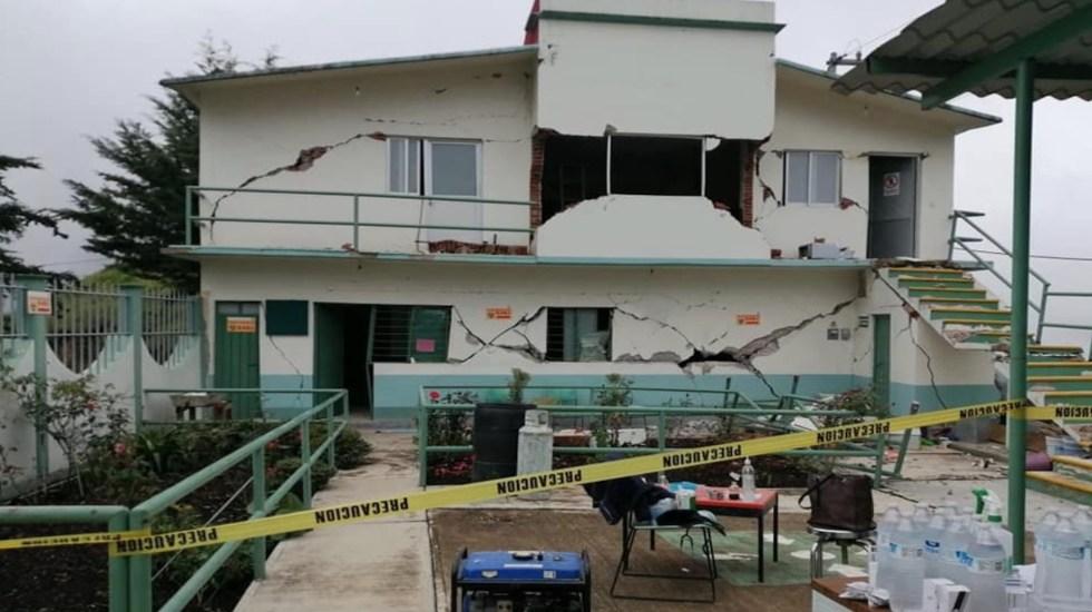 Se registra réplica de 5.1 tras sismo en Oaxaca - Foto de @GarrickElOso