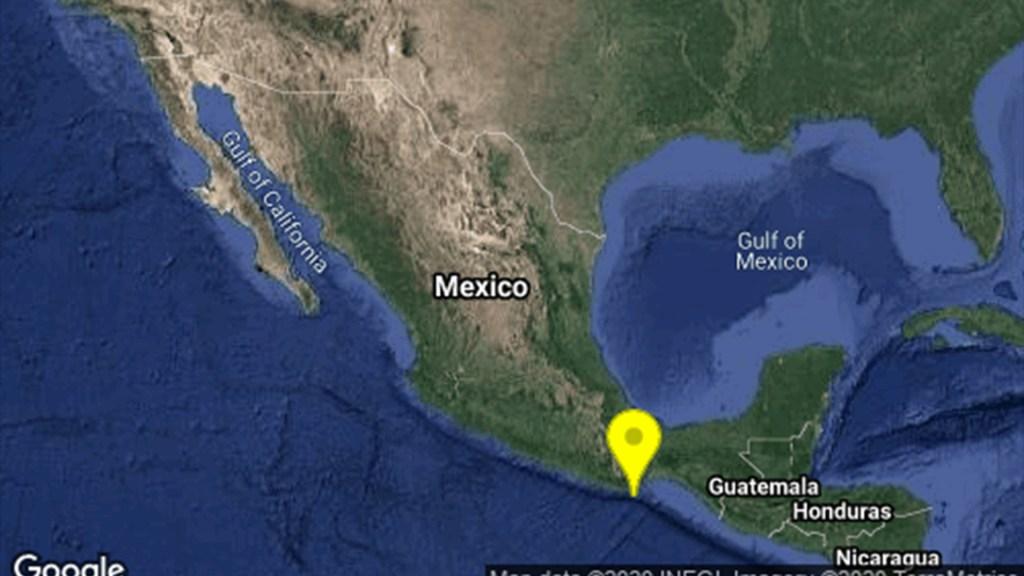 Nueva réplica magnitud 4.9 en costas de Oaxaca - Sismo en Crucecita Oaxaca. Foto de Sismológico Nacional