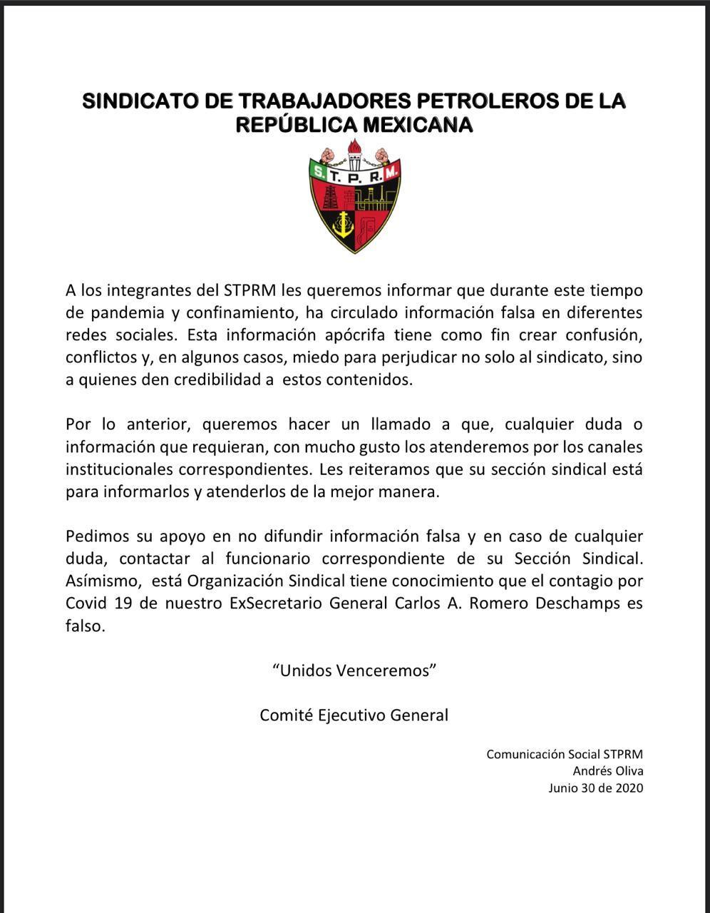 STPRM Romero Deschamps