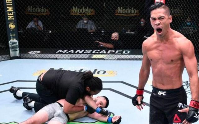 #Video Tyson Nam noquea en 32 segundos a debutante en la UFC - Tyson Nam vence por nocaut a Zarrukh Adashev