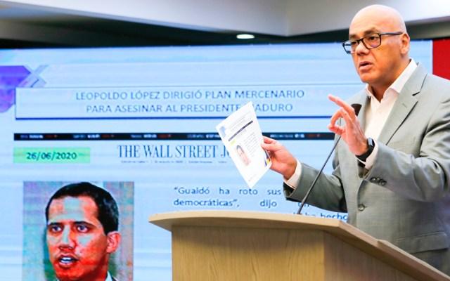 """Gobierno venezolano dice que Guaidó es la """"marioneta"""" de Leopoldo López y Trump - Vicepresidente de Comunicación de Venezuela, Jorge Rodríguez"""