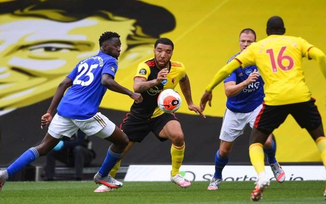 Watford saca el empate a Leicester con gol de último minuto - Watford Leicester City