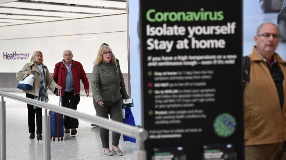 Reino Unido debe protegerse de aparente rebrote de COVID-19 en Europa: Johnson - Foto de EFE