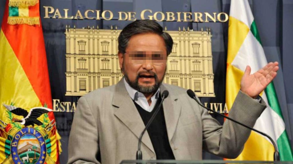 Detienen por robo en la Ciudad de México a exministro de Bolivia - Alfredo Rada Vélez, ex ministro de Presidencia de Bolivia. Foto de Diario Nuevo Sur
