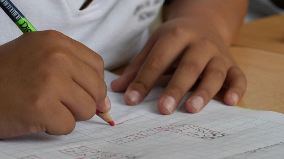 Invita SEP a colegios privados a conciliar costo de colegiaturas con padres de familia - Alumno de Guerrero. Foto de @EducacionGuerrero