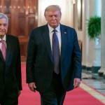 Poco interés en reunión Trump-AMLO en portadas de periódicos estadounidenses