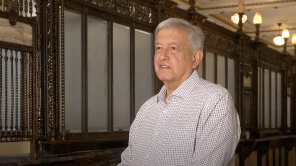 Denuncia AMLO 'amarillismo' de medios de medios que comparan muertes por COVID-19 entre México y Francia - El presidente Andrés Manuel López Obrador. Captura de pantalla