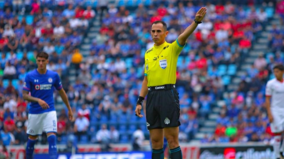 Tres árbitros de la Liga MX han dado positivo a COVID-19 - Árbitro Luis Enrique Santander