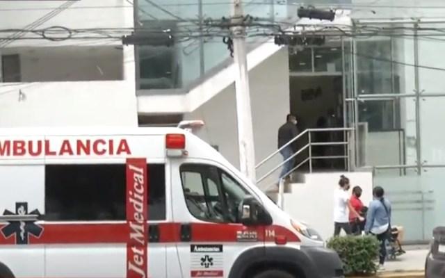 Hombre asalta banco en la Gustavo A. Madero - Banco asaltado en la GAM. Captura de pantalla / Foro Tv