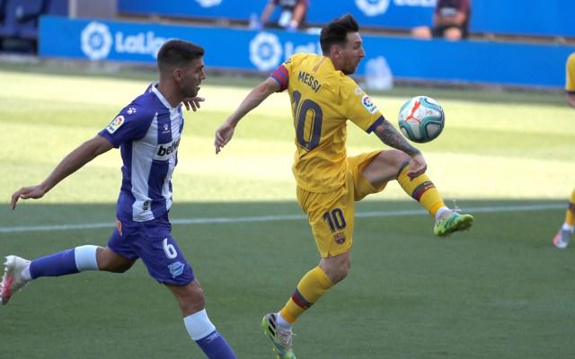 Barcelona golea a domicilio al Alavés - Barcelona vs Alavés. Foto de EFE