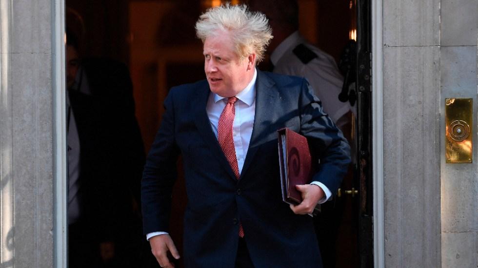 Johnson admite que el Reino Unido se encamina a un Brexit sin acuerdo - Foto de EFE