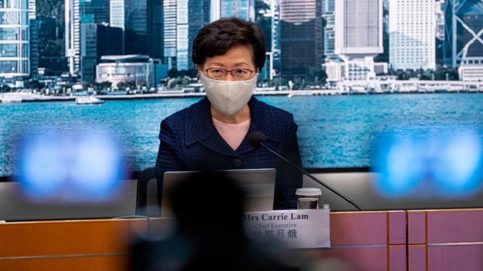 Hong Kong pospone elecciones legislativas por COVID-19 entre protestas opositoras - Foto de EFE