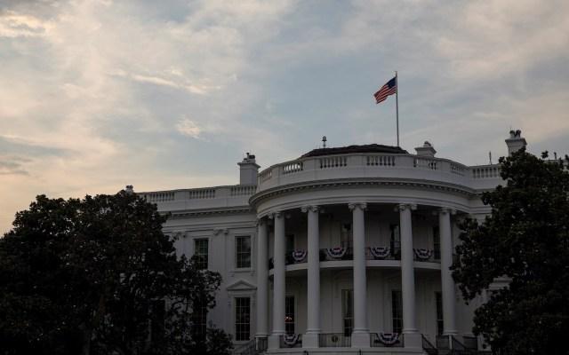 Estados Unidos inicia el proceso para retirarse de la OMS - Aspecto de la Casa Blanca. Foto de EFE.