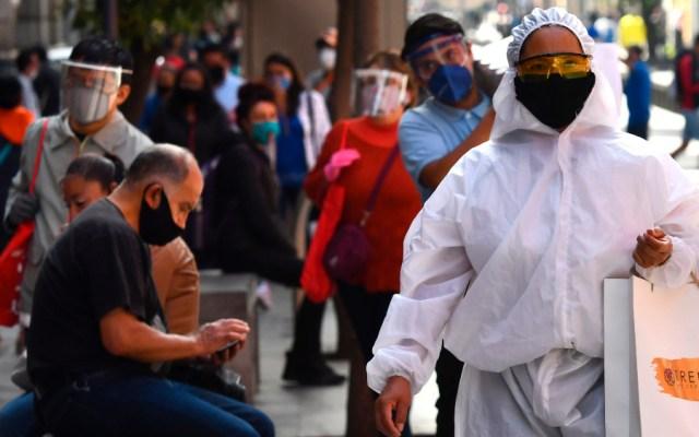 Ciudad de México estará en semáforo naranja la próxima semana - Foto de EFE