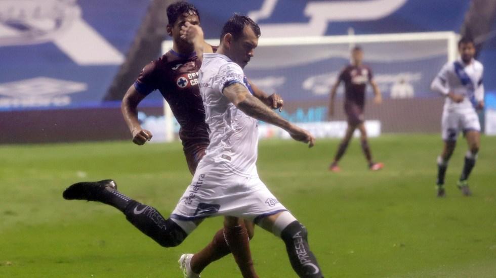 Cruz Azul empata al Puebla en el último minuto - Cruz Azul Puebla partido 31072020