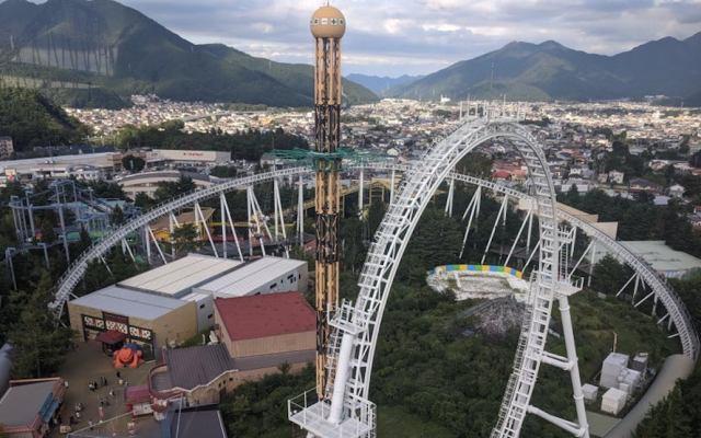 """""""No gritar"""", pide gobierno de Japón a visitantes de parques de diversiones - Do-Dodonpa, la mayor atracción del parque de diversiones Fuji-Q. Foto de Coasterpedia."""