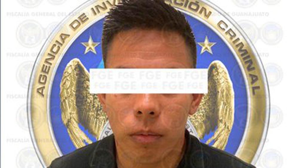 Vinculan a proceso a detenido por masacre en Irapuato - 'El Jordan', detenido por masacre en anexo de Irapuato. Foto de @FGEGUANAJUATO