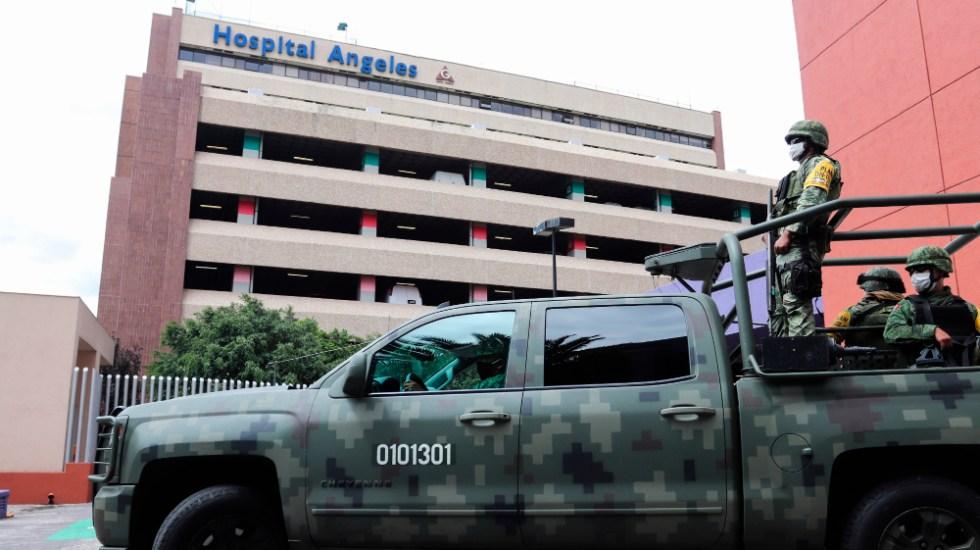 Emilio Lozoya sale del hospital al que ingresó tras su extradición - Foto de EFE