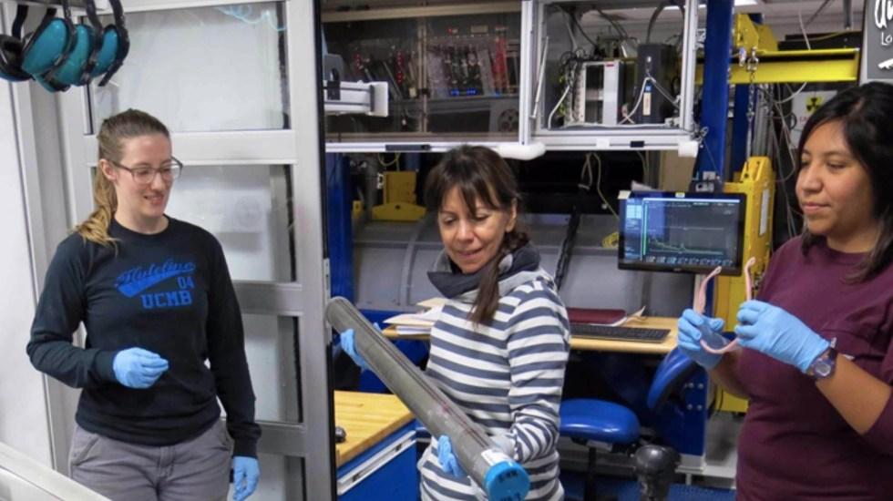 Especialista de la UNAM participa en expedición para estudiar el paleoclima en la Cuenca de Guaymas - Foto de UNAM