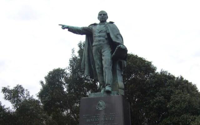 ¿Cómo acabó una estatua de Benito Juárez en la capital de EE.UU.? - Foto de Google Maps
