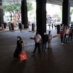 #Video Largas filas en centros comerciales de la CDMX en primer día de reapertura