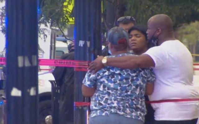 #Video Al menos 14 heridos por tiroteo en funeral en Chicago - Foto de NBC Chicago