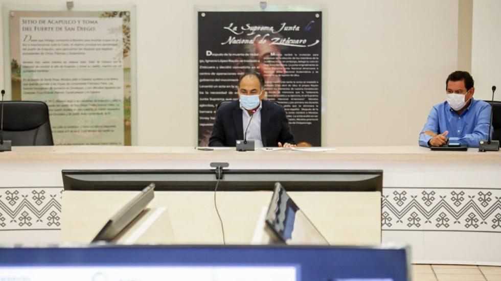 Guerrero pospone regreso a oficinas de trabajadores del estado - Gobernador de Guerrero, Héctor Astudillo. Foto de Gobierno de Guerrero
