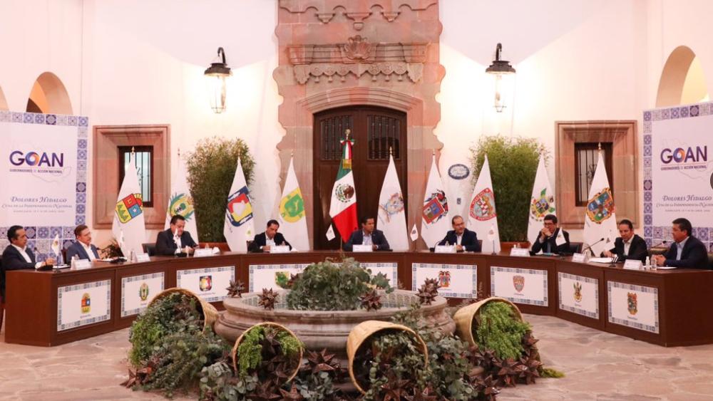 Cancela Secretaría de Salud reunión con gobernadores del PAN - Foto de @GOAN_MX