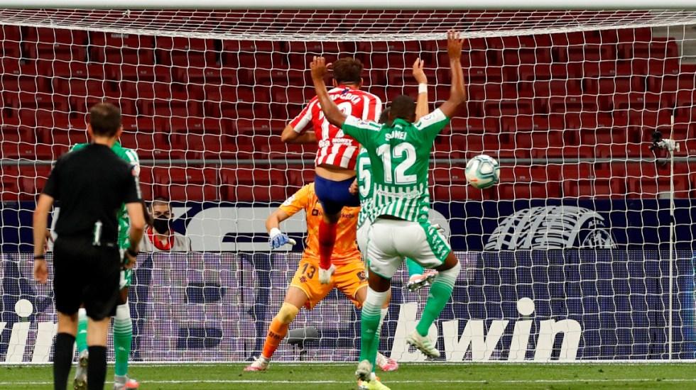Diego Costa sella pase del Atlético de Madrid a la Champions - Gol de Diego Costa contra el Betis