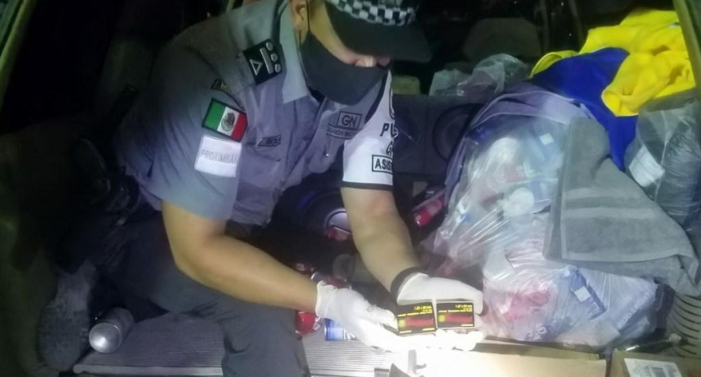 Detienen en Chihuahua a estadounidense con cinco mil cartuchos de rifle de asalto - Guardia Nacional estadounidense detenido cartuchos útiles