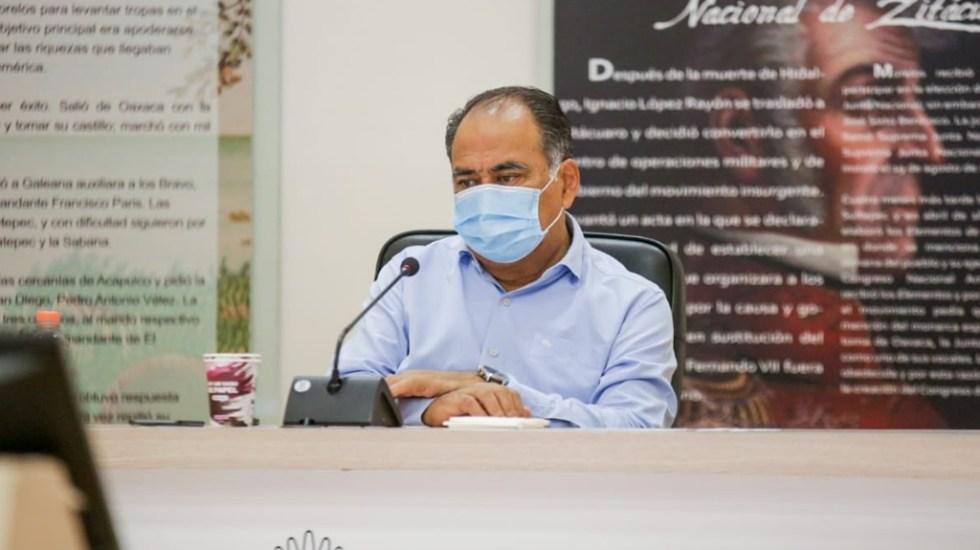Refuerzan acciones en municipios de Guerrero con más contagios de COVID-19, informa Astudillo - Héctor Astudillo Flores Guerrero gobernador