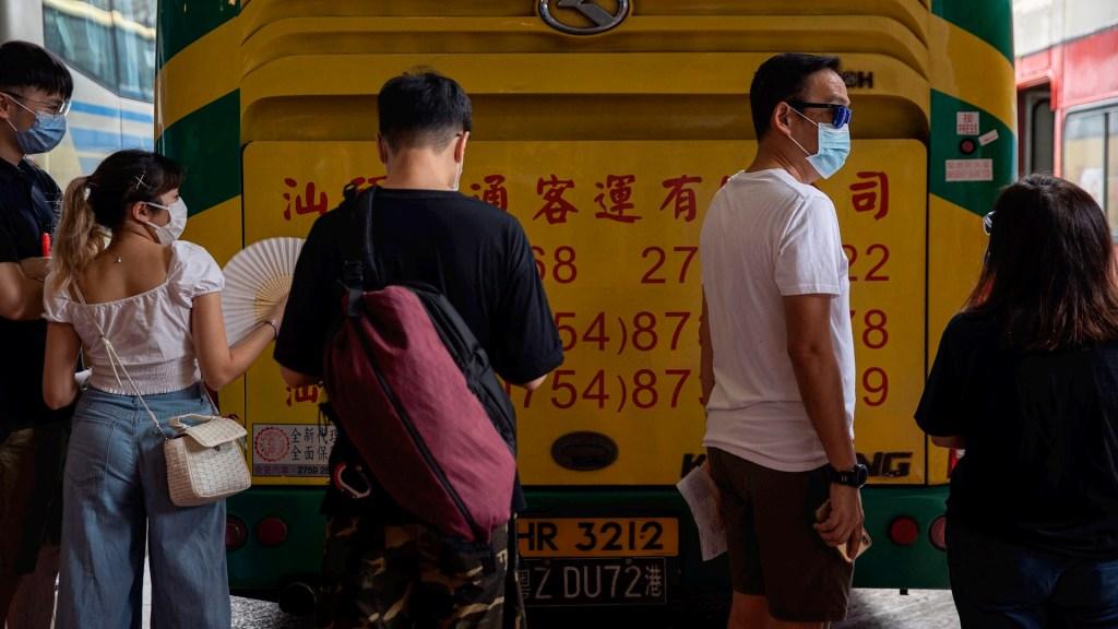 Hong Kong alcanza su peor brote de COVID-19 desde marzo - Hong Kong coronavirus COVID-19