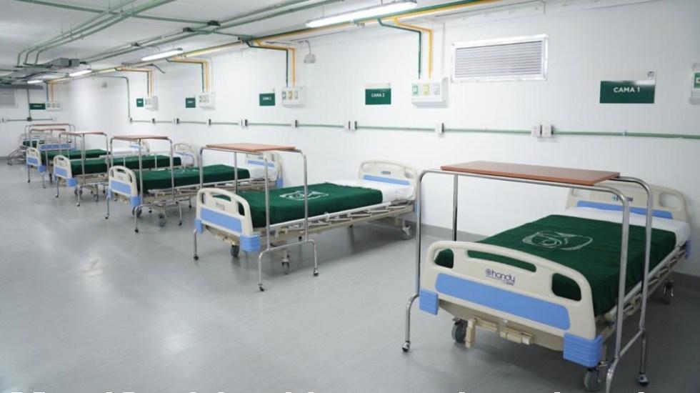 Aumentará IMSS capacidad hospitalaria en ocho estados ante contagios por COVID-19 - Foto de @Tu_IMSS