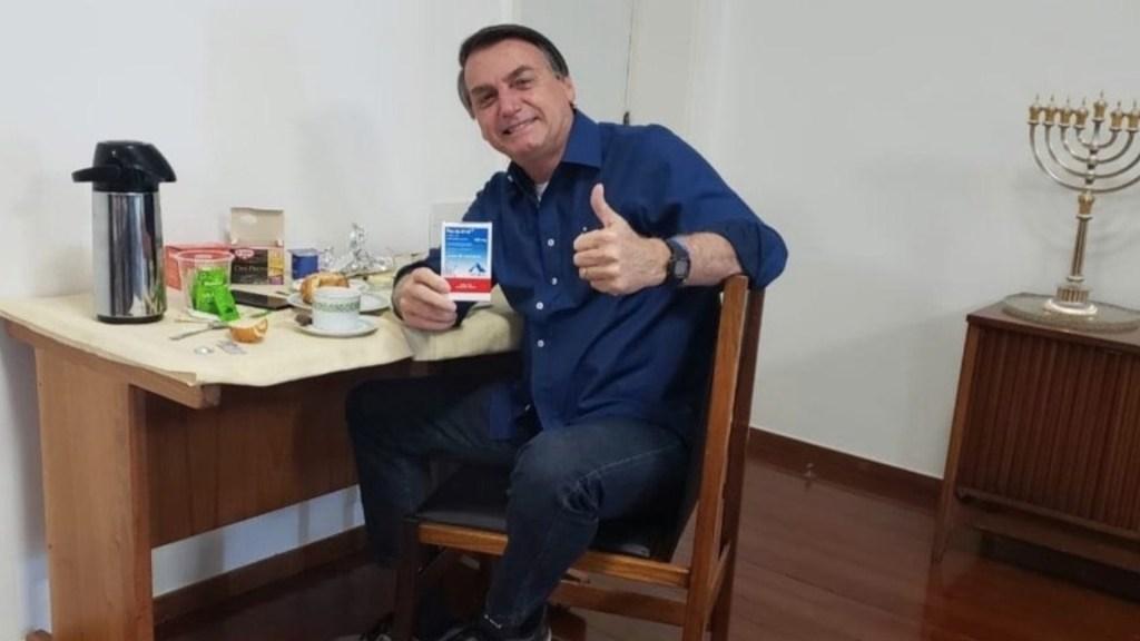 """""""Por lo menos no maté a nadie"""": Bolsonaro se retracta, por primera vez, sobre beneficios de la cloroquina - Foto de Twitter Jair Bolsonaro"""