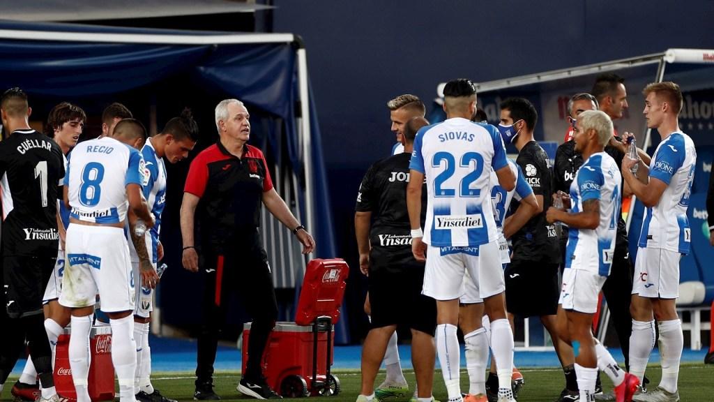 """""""Es una pena, los jugadores entregaron lo que tenían: Javier Aguirre - El mexicano Javier Aguirre, técnico del Leganés. Foto de EFE."""