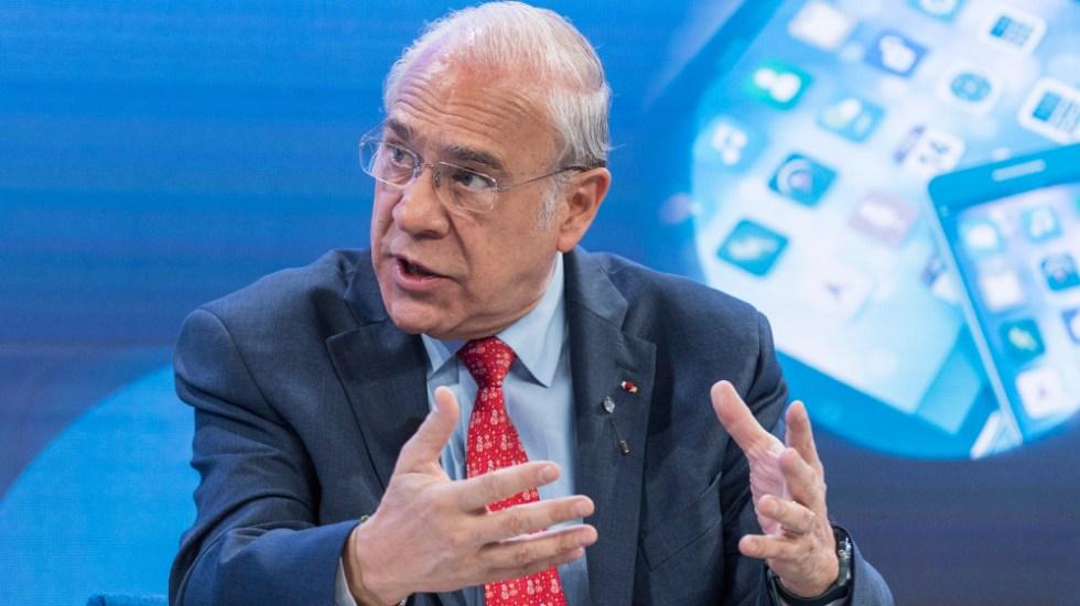 José Ángel Gurría dejará la OCDE en junio de 2021 - Foto de EFE