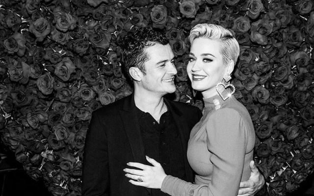 Katy Perry confiesa que pensó en el suicidio tras ruptura con Orlando Bloom - Katy Perry y Orlando Bloom en su fiesta de compromiso. Foto de @katyperry