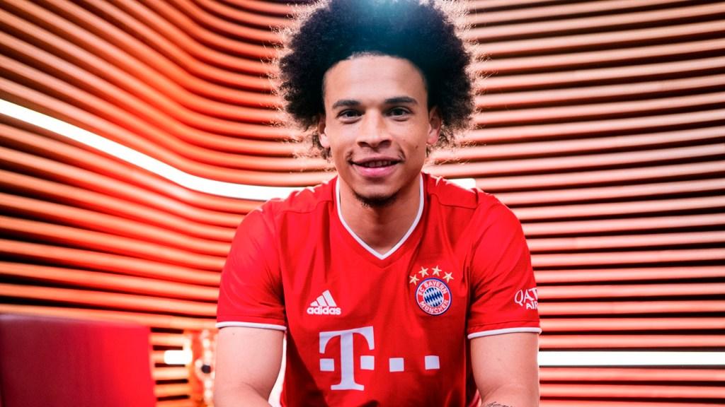 Bayern Múnich confirma contratación de Sané hasta 2025 - Leroy Sané Bayern